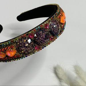 Jeweled Rhinestone Headband